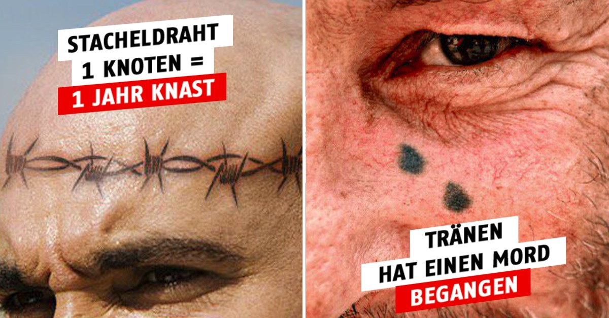 Knast Tattoos Deutschland