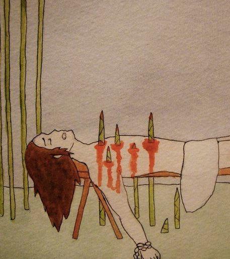 Foltermethode Bambus