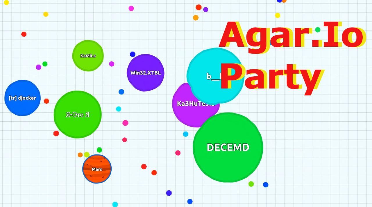 Agario Spiel