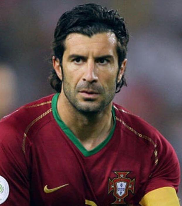 Luis Figo ist nach Cristiano Ronaldo der bekannteste portugiesische Fußballspieler