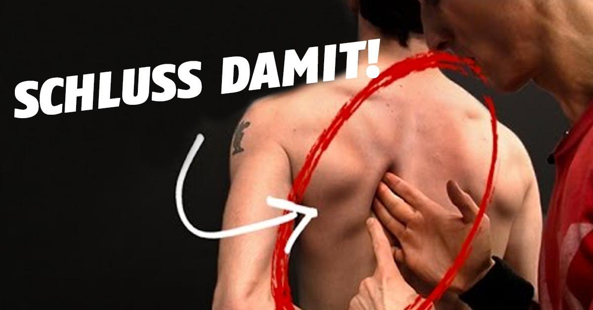 Schmerzen In Den Schulterblättern