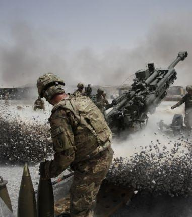 Kanonenschüsse verursachen enorme Erschütterungen