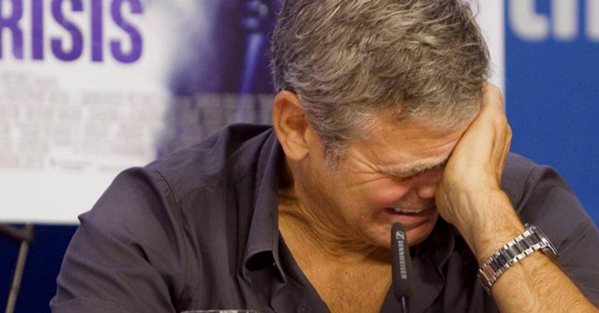 Tränen bei George...