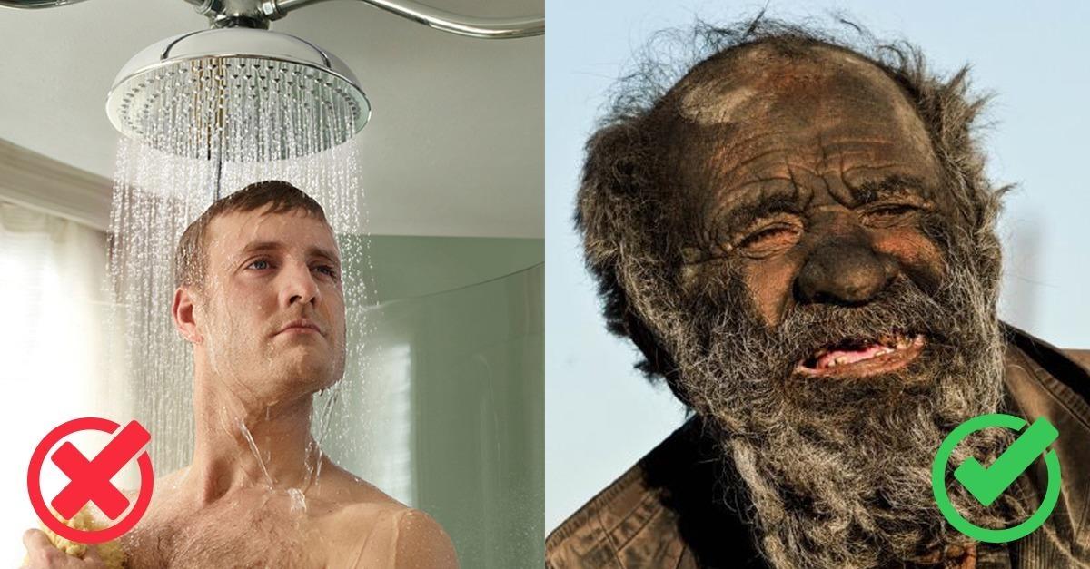 jeden tag duschen