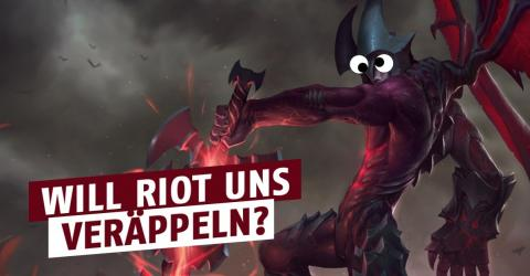 League of Legends: Lustig, wie Riot Probleme löst...