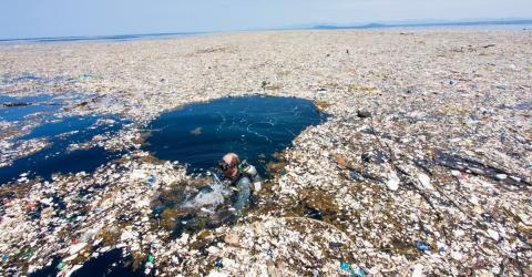 Deutscher Sportartikelhersteller hat geniale Idee gegen Plastikmüll im Meer