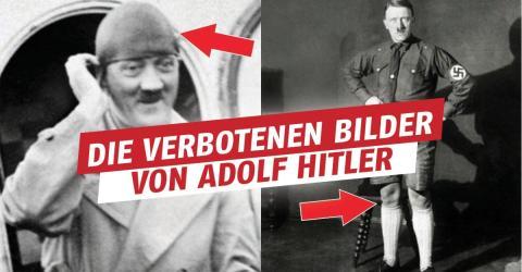 Verbotene Bilder von Adolf Hitler veröffentlicht