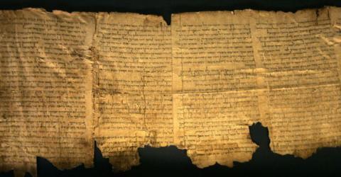 Israelische Forscher lösen das letzte Rätsel der Schriftrollen vom Toten Meer