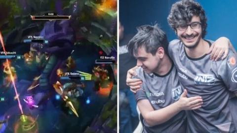 League of Legends: Lässig! Dieser Brasilianer klaut den Baron Nashor mit Stil