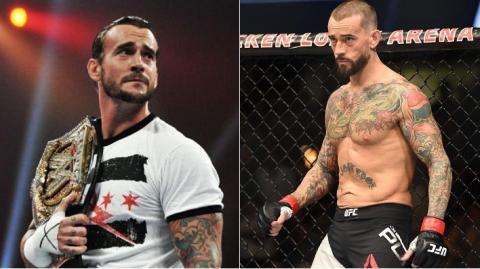 Der Star-Catcher CM Punk kehrt zurück zur MMA