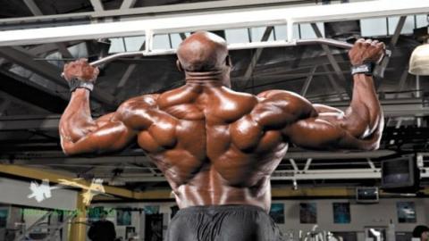 Das spektakuläre Training des Bodybuilders Joel Stubbs