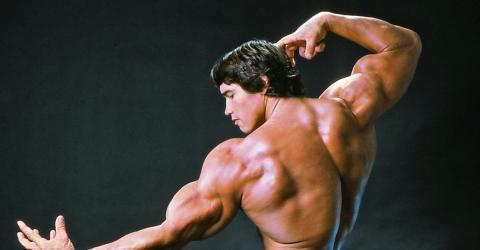 Video: Der uneheliche Sohn von Schwarzenegger kopiert seine legendäre Pose!