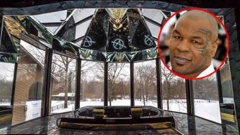 Das ehemalige Herrenhaus von Mike Tyson