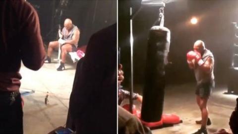 Auch mit 49 noch top fit und ungeheuer kraftvoll: Mike Tyson