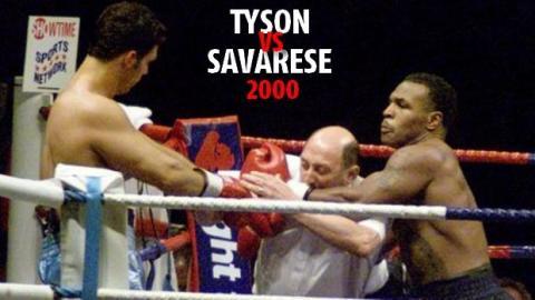 Boxen: Seht hier Mike Tysons verrücktesten Kampf gegen Lou Savarese!