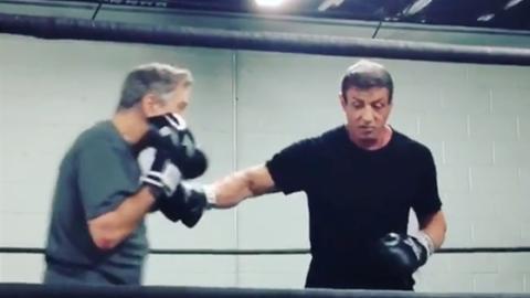 Unveröffentlicht: Neue Videos zeigen Stallone im Ring mit De Niro!