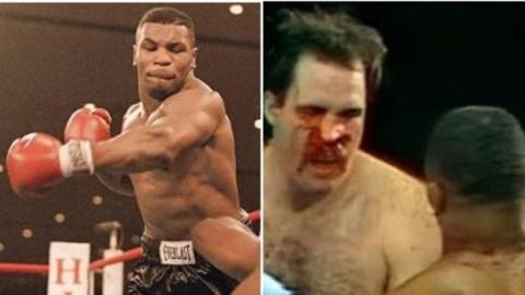 Wenn Tyson auf einen Riesen trifft, der fast doppelt so alt ist wie er
