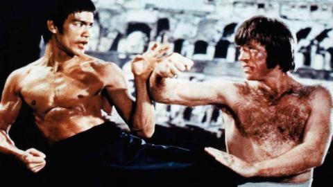 """Chuck Norris: Bruce Lee wollte mich beim Dreh zur """"Todeskralle"""" umbringen!"""