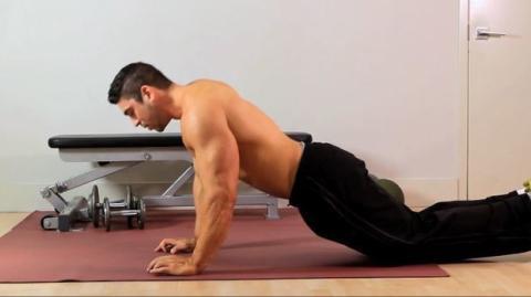 Eine einfache Übung für einen starken Trizeps und eine muskulösere Brustmuskulatur!