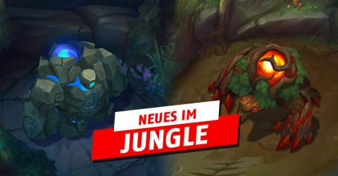 Neu mit Season 8: Weniger Erfahrung im Jungle und seltsamer Buff für Dolch des Wilderers