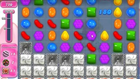 Candy Crush Saga Level 1491: Lösung, Tipps und Tricks