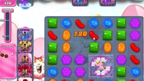 Candy Crush Saga Level 1496: Lösung, Tipps und Tricks