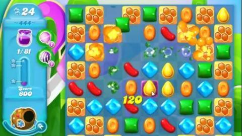Candy Crush Soda Level 444: Lösung, Tipps und Tricks