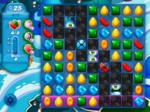 Candy Crush Soda Level 672: Lösung, Tipps und Tricks