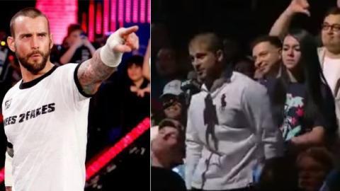MMA: CM Punk weist einen Hater mitten in der UFC Konferenz in die Schranken