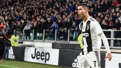 Wie im Märchen: Ronaldo jubelt und die Juventus-Fans machen etwas Großartiges!