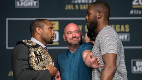 Dana White: Rückkampf von Jon Jones und Daniel Cormier am 29. Juli bei der UFC 214