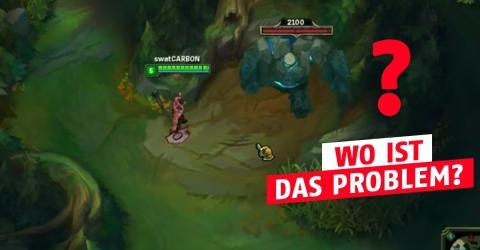 Dieser Darius amüsiert sich prächtig mit den Buffs im Dschungel!