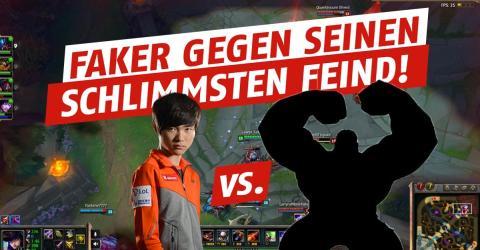 League of Legends: Da sprühen die Funken! Faker trifft auf südkoreanische SoloQ-Legende!