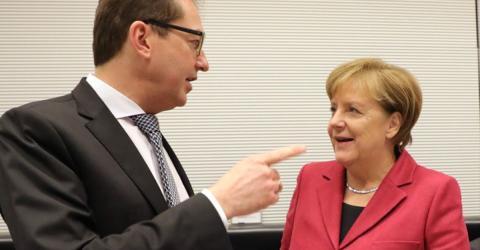 Nach Ausländerstopp bei Tafel: Dobrindt fällt Merkel in den Rücken