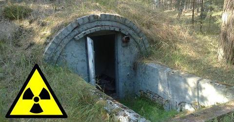 Razzia in Atombunker: Die Polizei traut ihren Augen nicht!