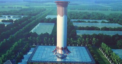 China: Der größte Luftreiniger der Welt nimmt den Betrieb auf