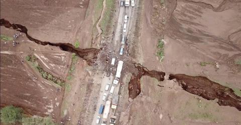 Afrika: Bricht der Kontinent nach Erdbeben auseinander?
