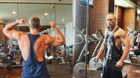 Mit dieser Ernährung hält sich Jean-Claude Van Damme auch mit 58 noch fit!