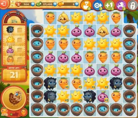 Farm Heroes Saga Level 819: Lösungen, Tipps und Tricks