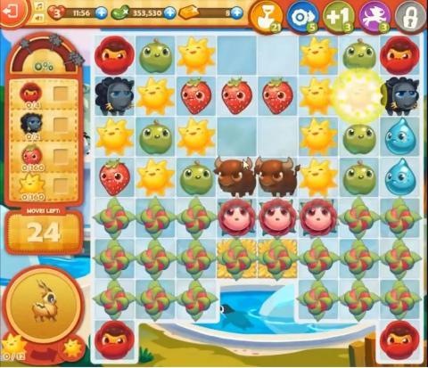 Farm Heroes Saga Level 824: Lösungen, Tipps und Tricks