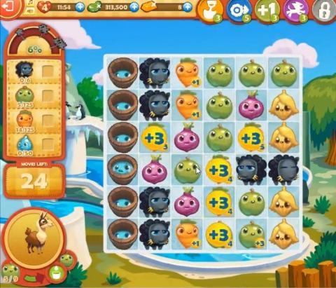 Farm Heroes Saga Level 826: Lösungen, Tipps und Tricks