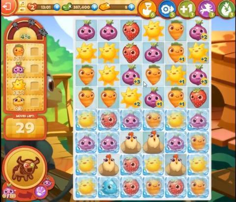 Farm Heroes Saga Level 838: Lösungen, Tipps und Tricks