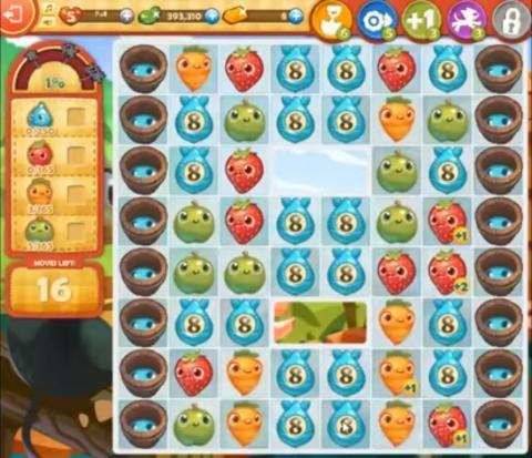 Farm Heroes Saga Level 840: Lösungen, Tipps und Tricks