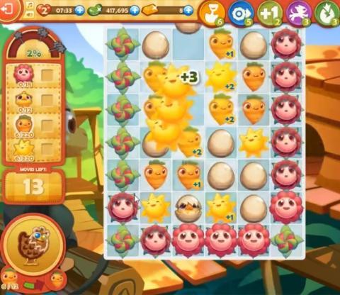 Farm Heroes Saga Level 843: Lösungen, Tipps und Tricks