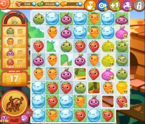 Farm Heroes Saga Level 844: Lösungen, Tipps und Tricks