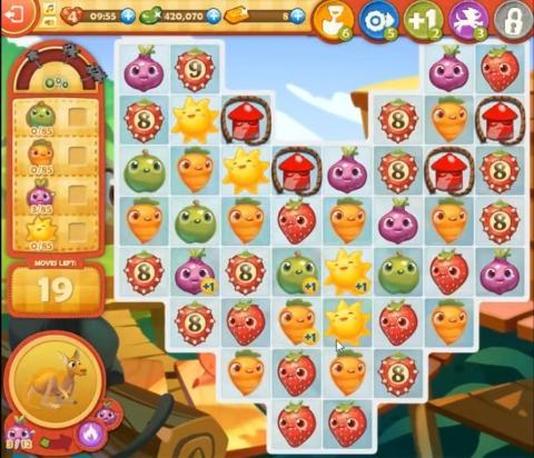 Farm Heroes Saga Level 845: Lösungen, Tipps und Tricks