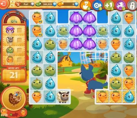 Farm Heroes Saga Level 818: Lösungen, Tipps und Tricks