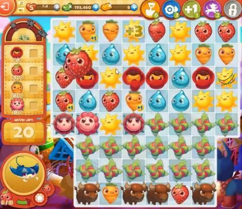 Farm Heroes Saga Level 796: Lösungen, Tipps und Tricks