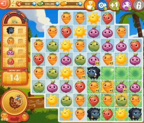 Farm Heroes Saga Level 806: Lösungen, Tipps und Tricks