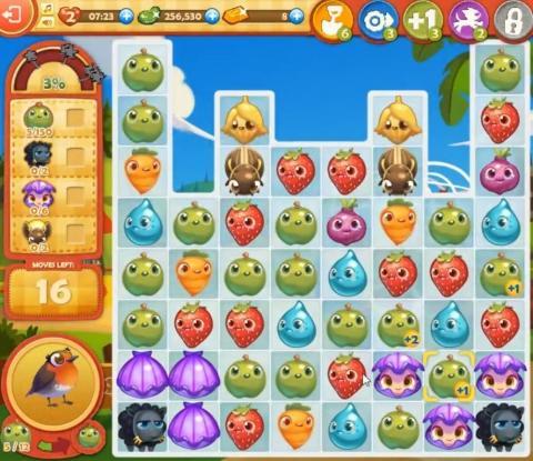 Farm Heroes Saga Level 813: Lösungen, Tipps und Tricks